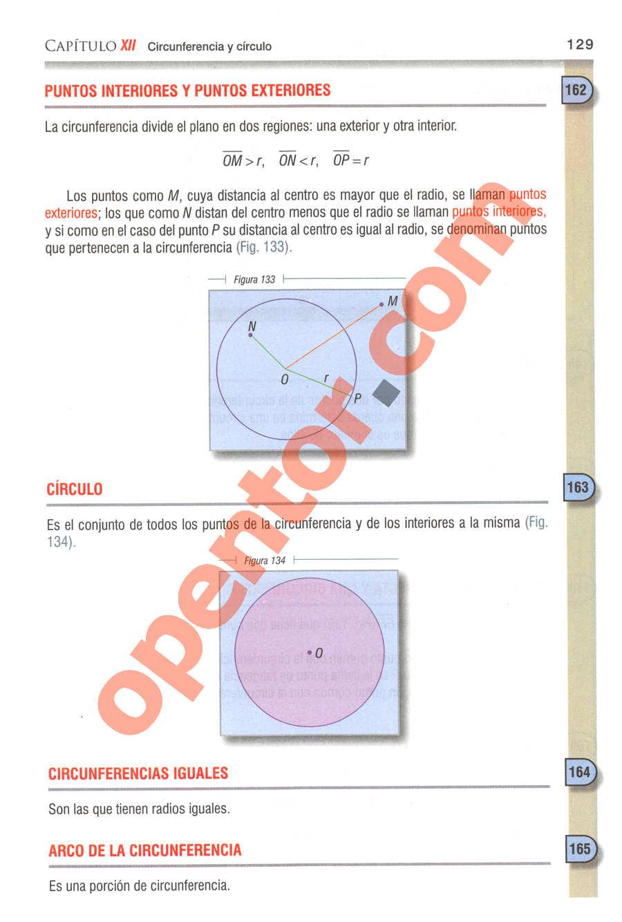 Geometría y Trigonometría de Baldor - Página 129