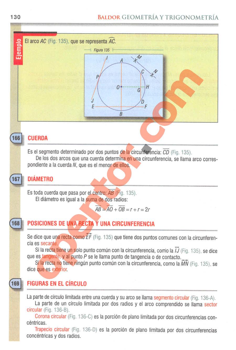 Geometría y Trigonometría de Baldor - Página 130