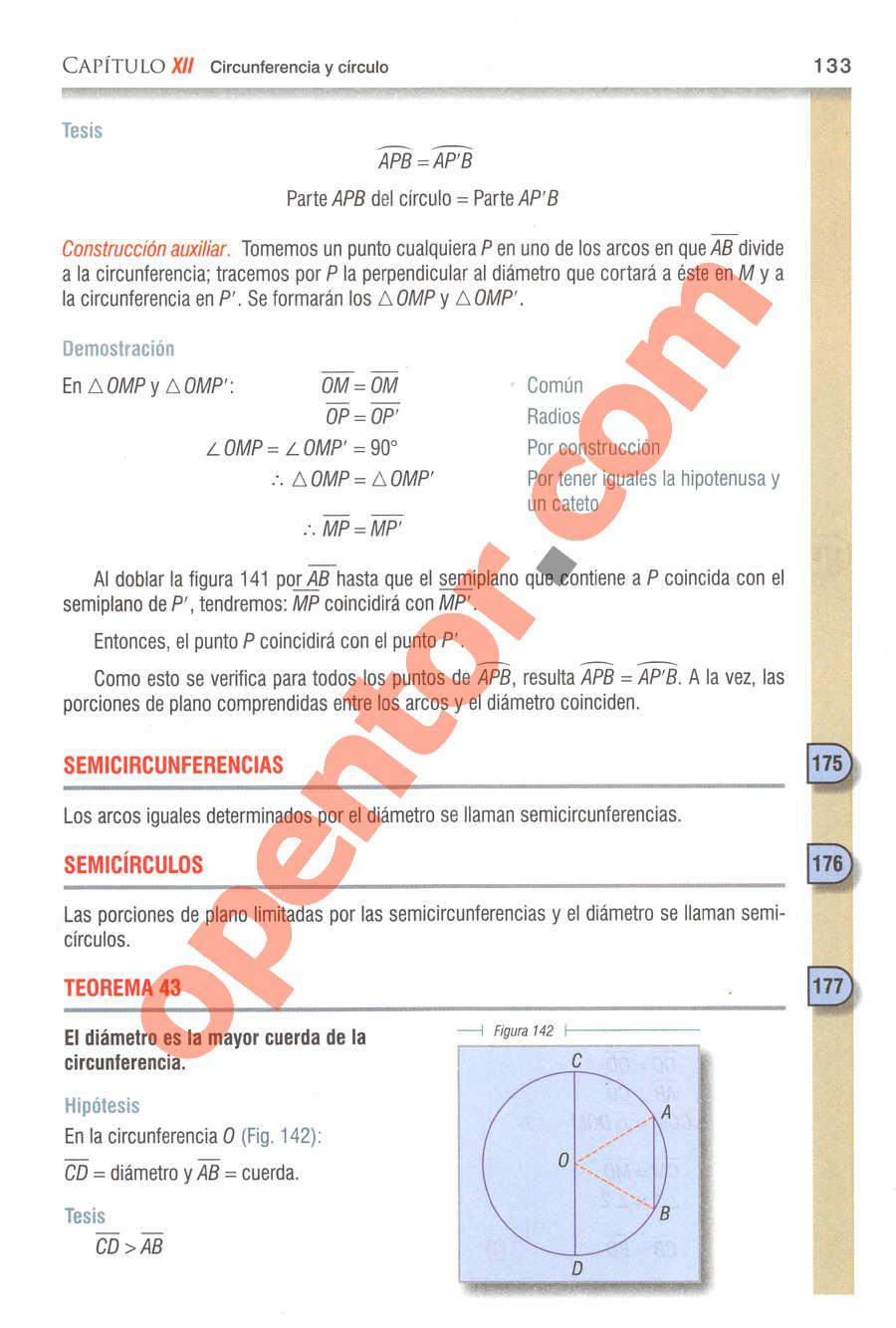 Geometría y Trigonometría de Baldor - Página 133