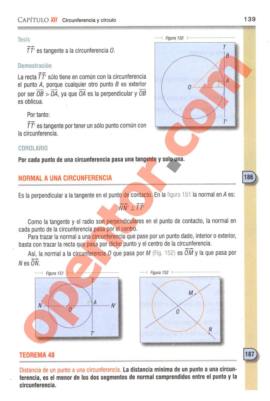 Geometría y Trigonometría de Baldor - Página 139