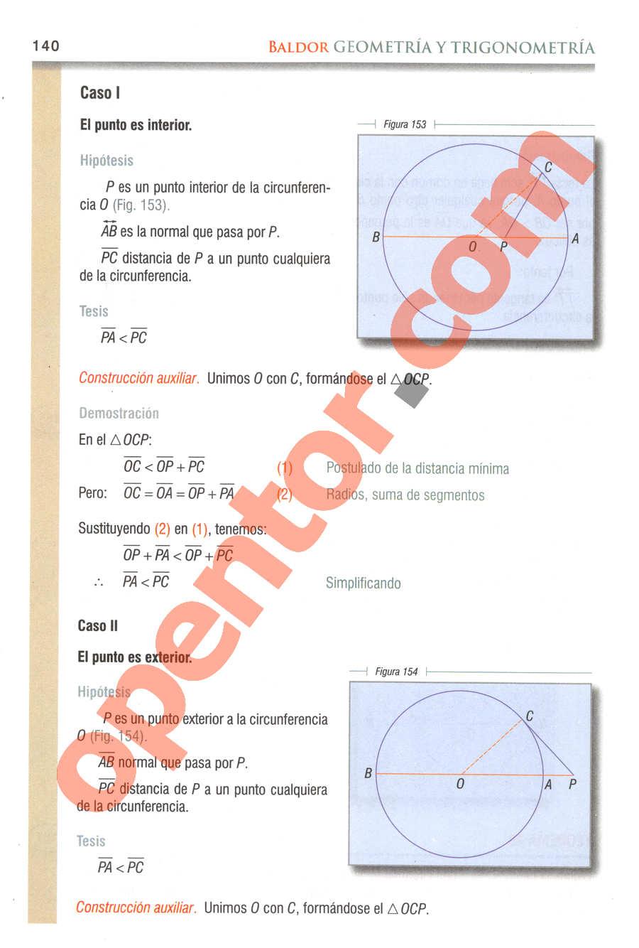 Geometría y Trigonometría de Baldor - Página 140
