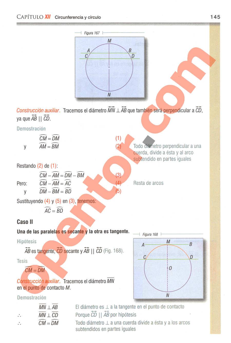 Geometría y Trigonometría de Baldor - Página 145