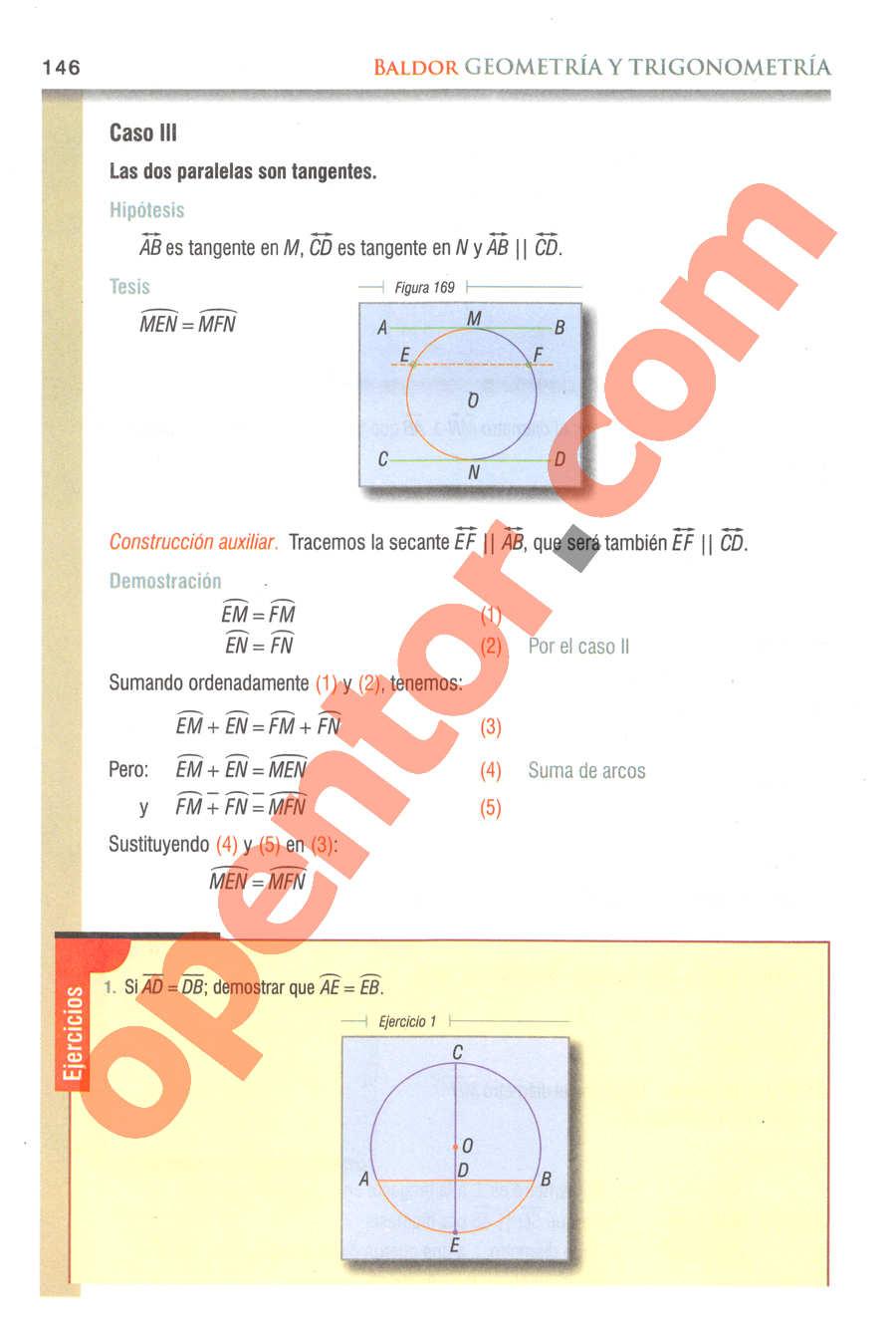 Geometría y Trigonometría de Baldor - Página 146