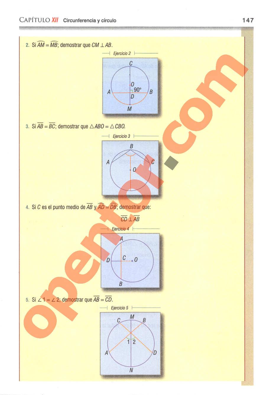 Geometría y Trigonometría de Baldor - Página 147