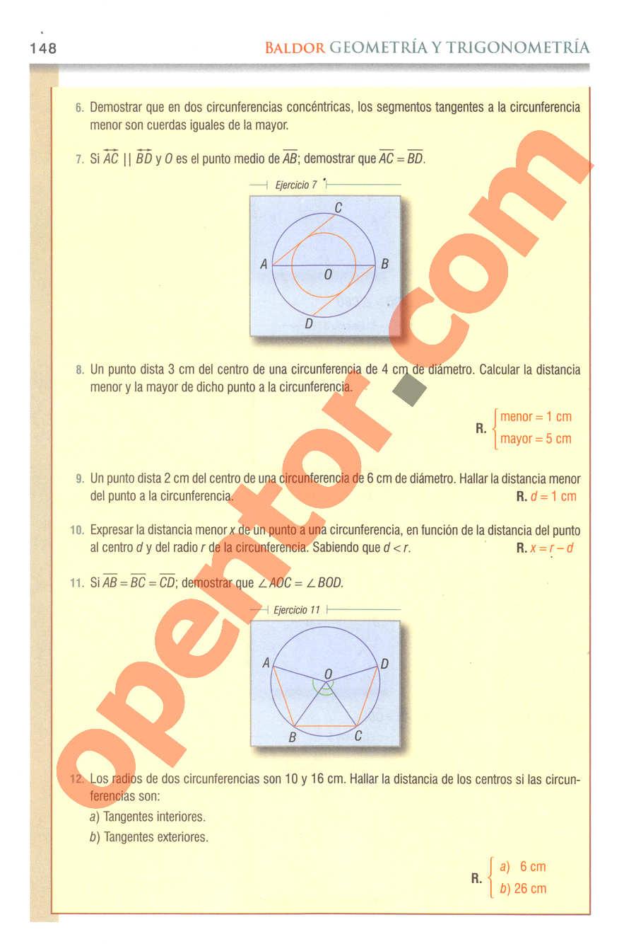 Geometría y Trigonometría de Baldor - Página 148