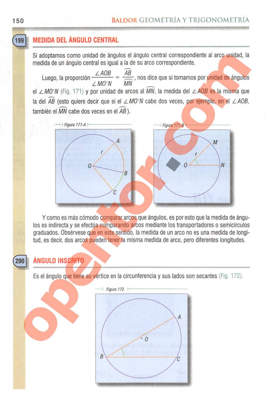 Geometría y Trigonometría de Baldor - Página 150