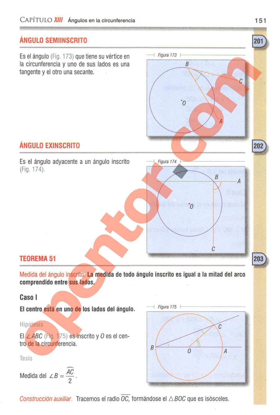 Geometría y Trigonometría de Baldor - Página 151