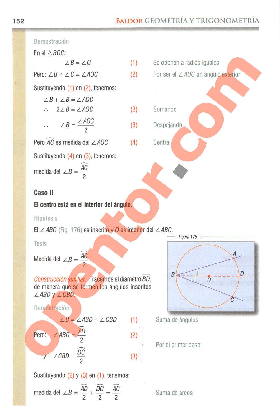 Geometría y Trigonometría de Baldor - Página 152
