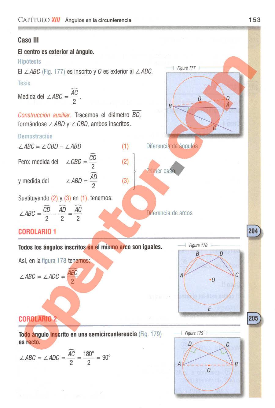 Geometría y Trigonometría de Baldor - Página 153