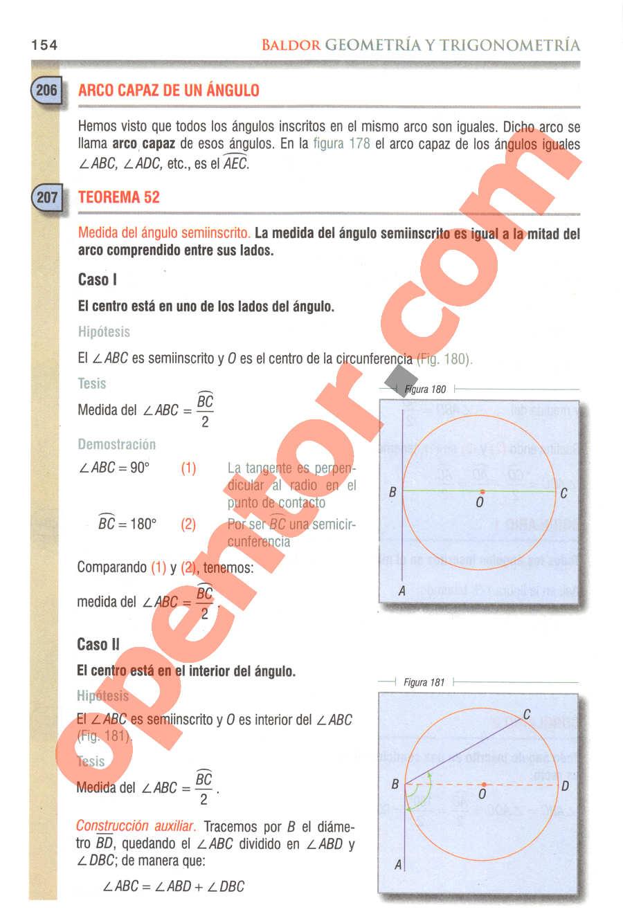 Geometría y Trigonometría de Baldor - Página 154