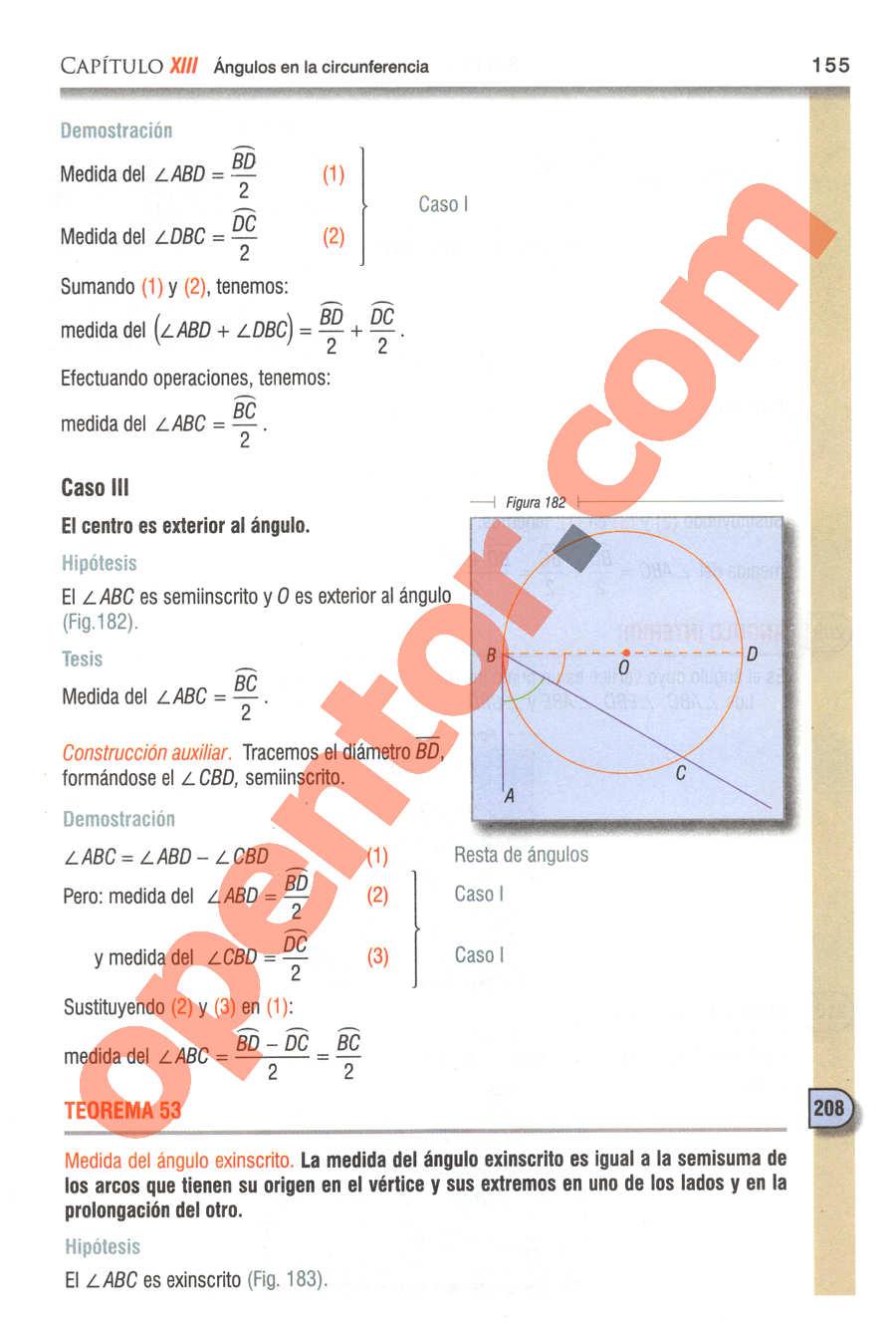 Geometría y Trigonometría de Baldor - Página 155