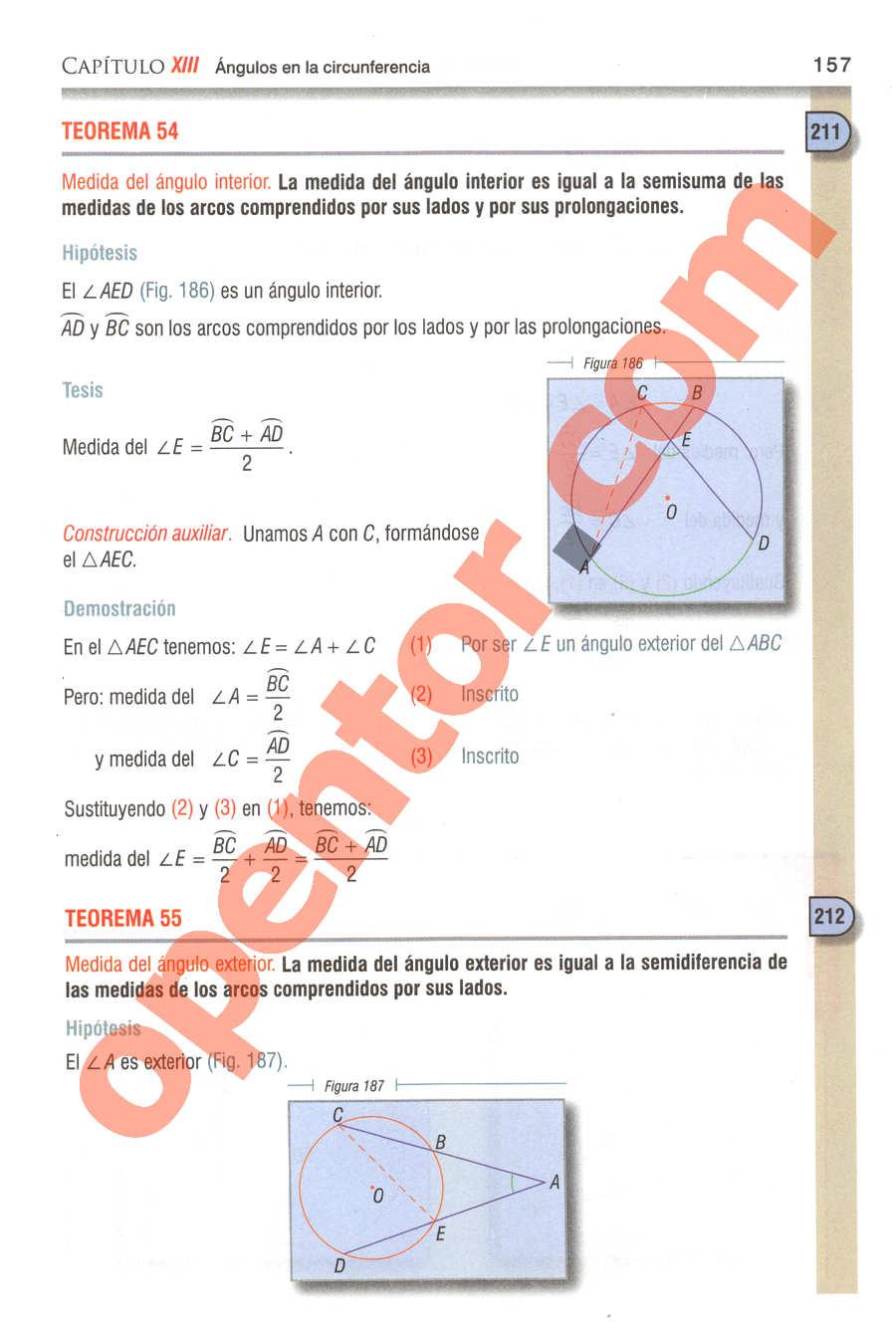 Geometría y Trigonometría de Baldor - Página 157