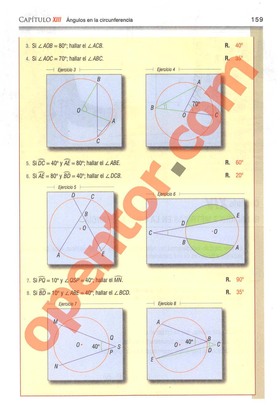 Geometría y Trigonometría de Baldor - Página 159