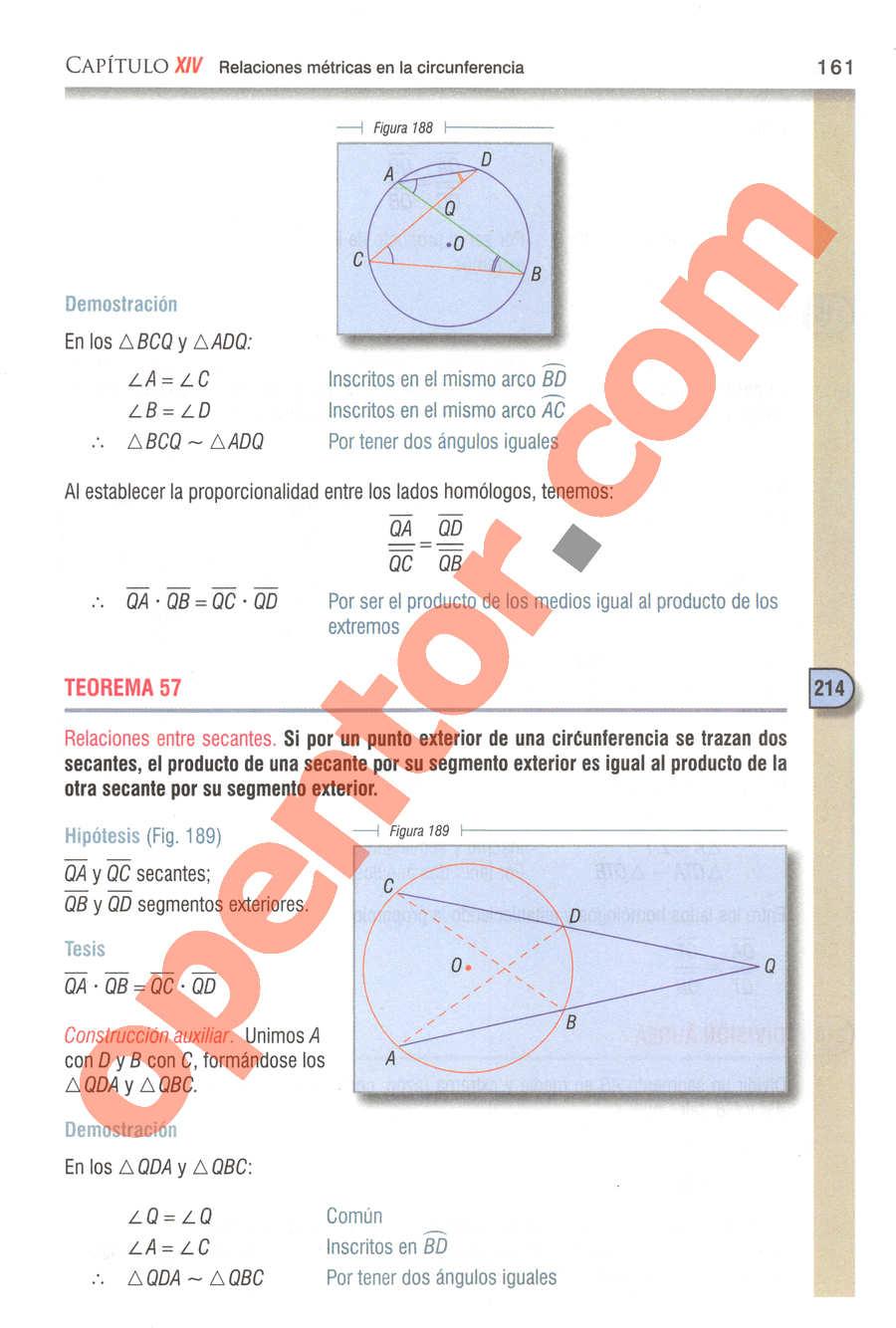 Geometría y Trigonometría de Baldor - Página 161