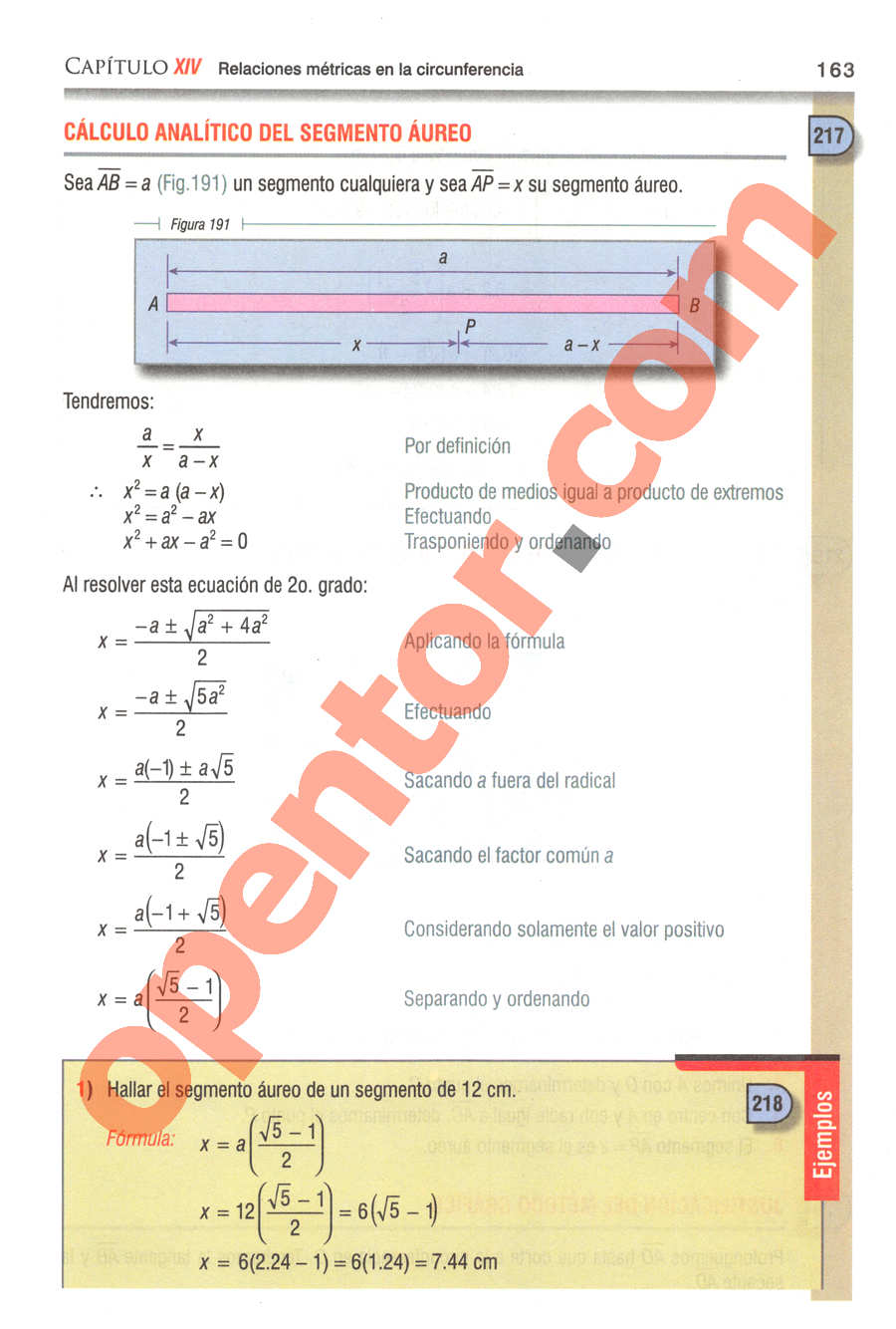 Geometría y Trigonometría de Baldor - Página 163