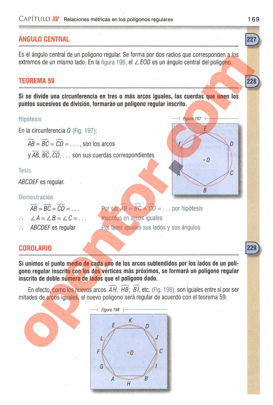 Geometría y Trigonometría de Baldor - Página 169