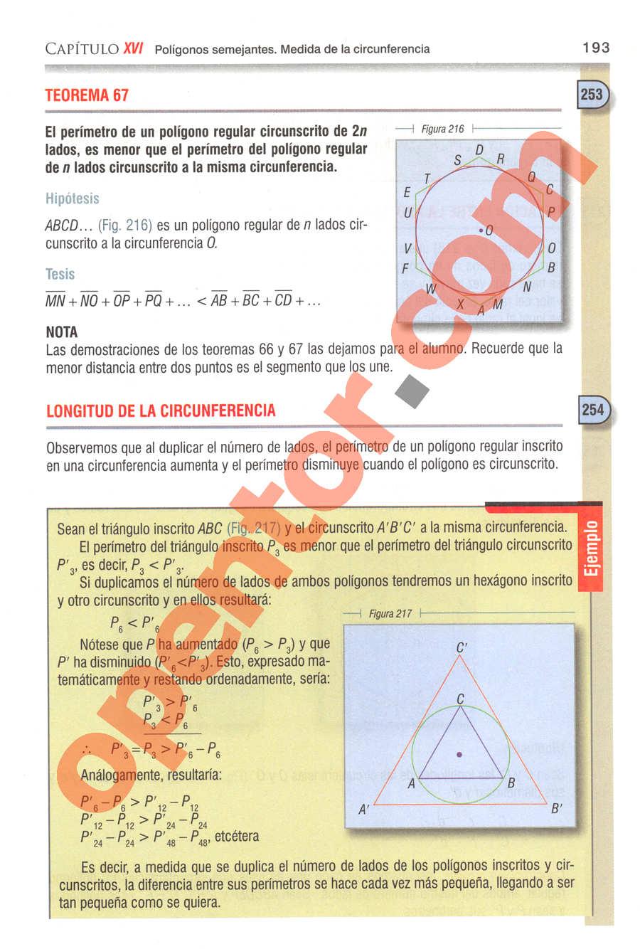 Geometría y Trigonometría de Baldor - Página 193
