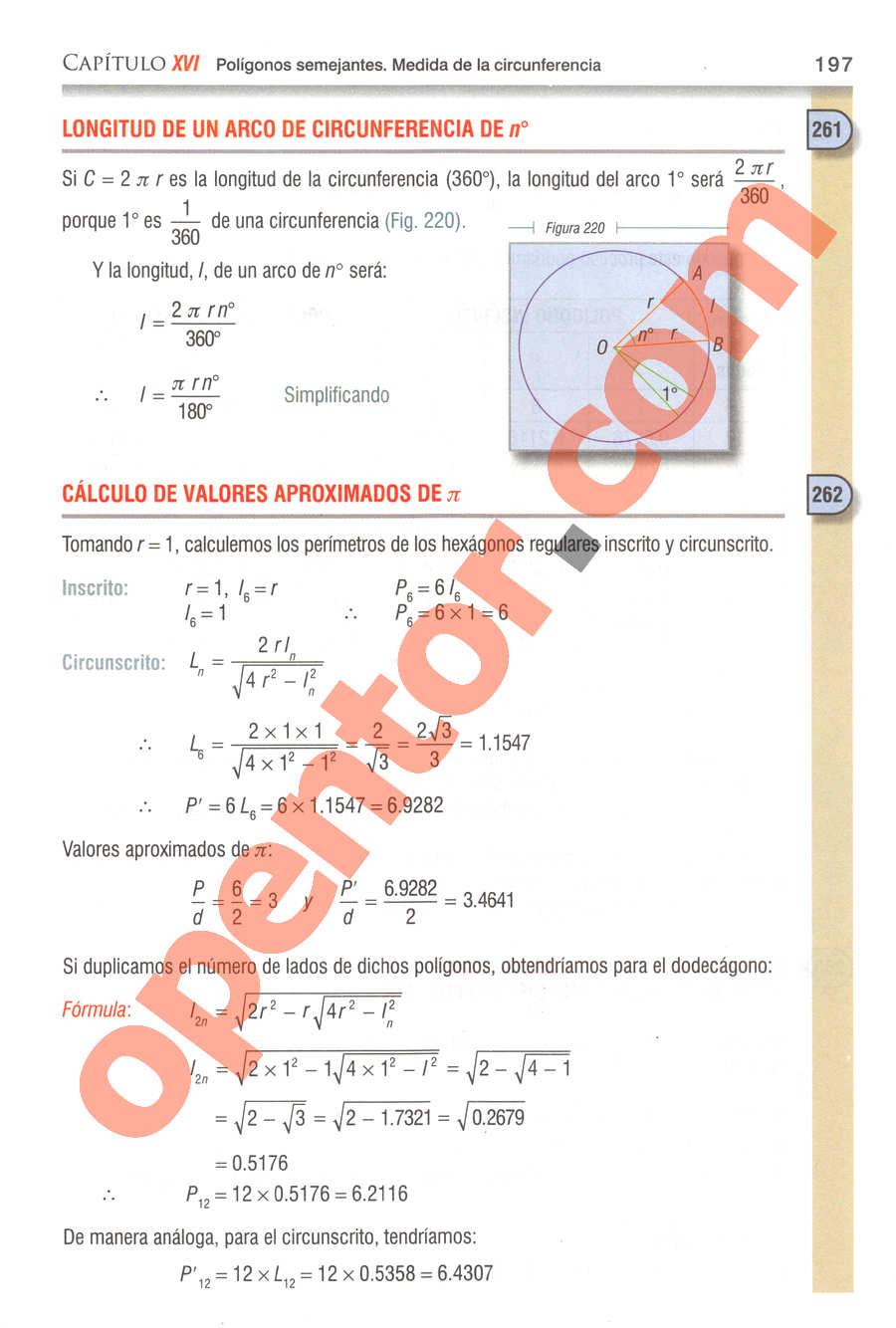 Geometría y Trigonometría de Baldor - Página 197