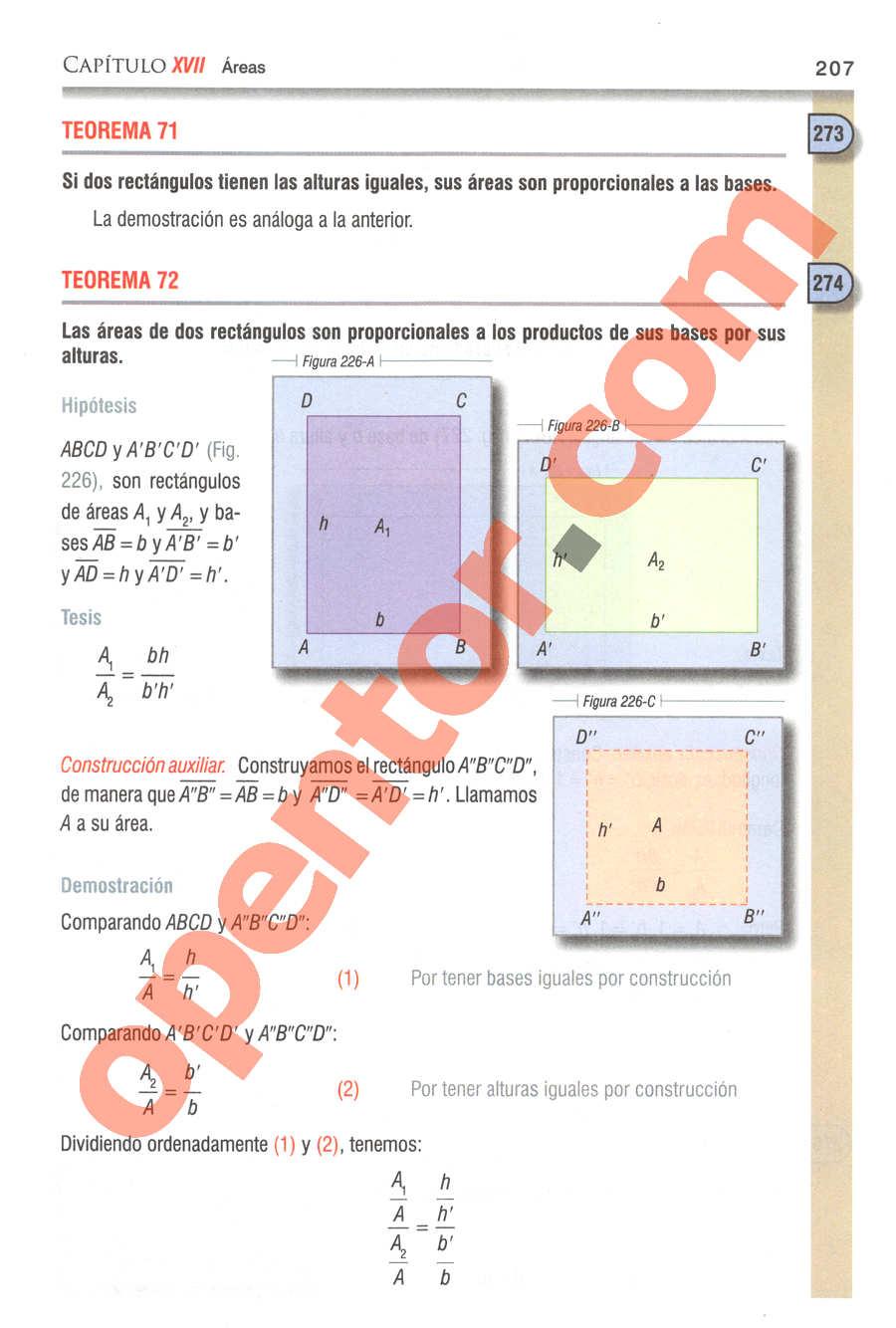 Geometría y Trigonometría de Baldor - Página 207
