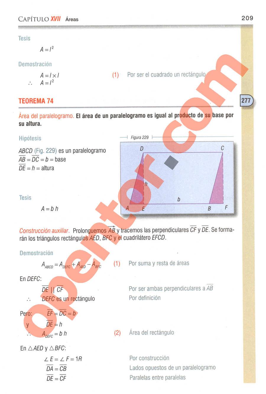 Geometría y Trigonometría de Baldor - Página 209