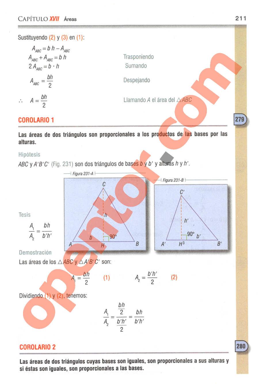 Geometría y Trigonometría de Baldor - Página 211