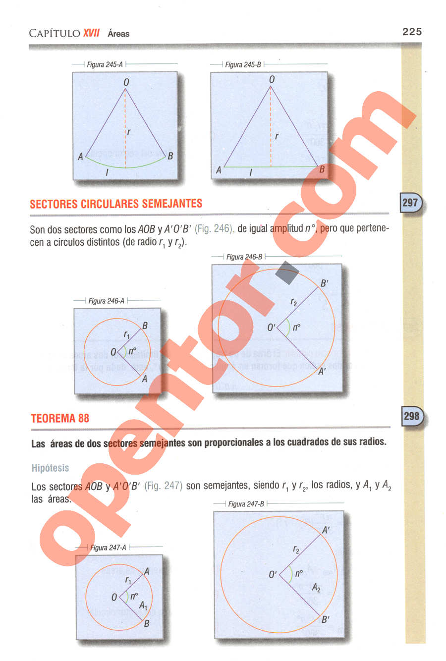 Geometría y Trigonometría de Baldor - Página 225