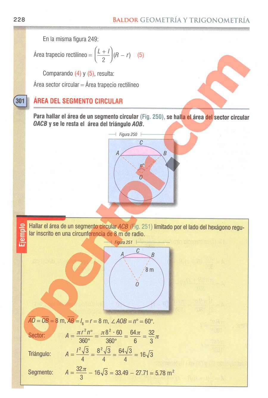 Geometría y Trigonometría de Baldor - Página 228