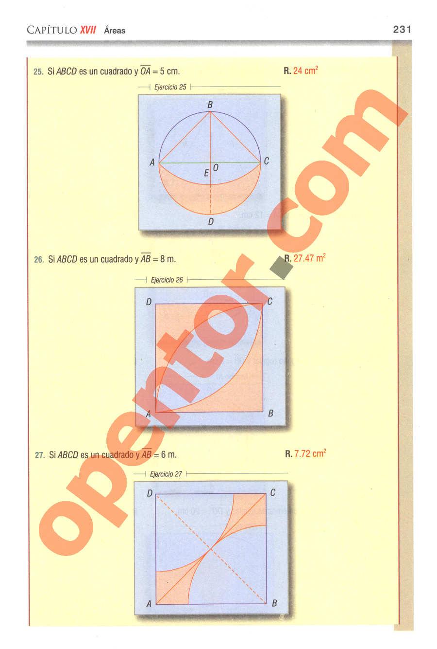 Geometría y Trigonometría de Baldor - Página 231