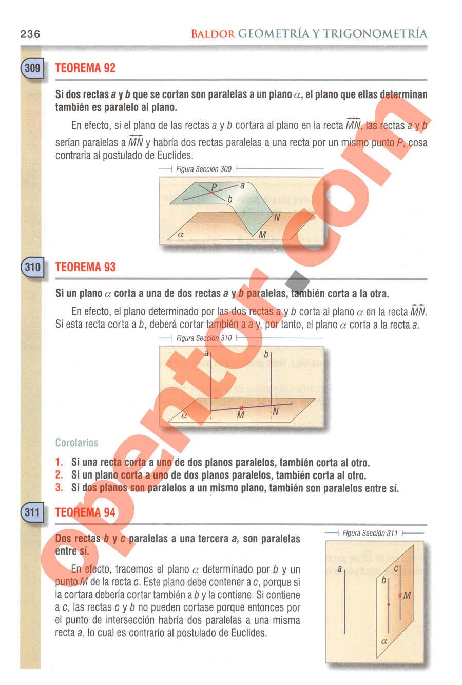 Geometría y Trigonometría de Baldor - Página 236