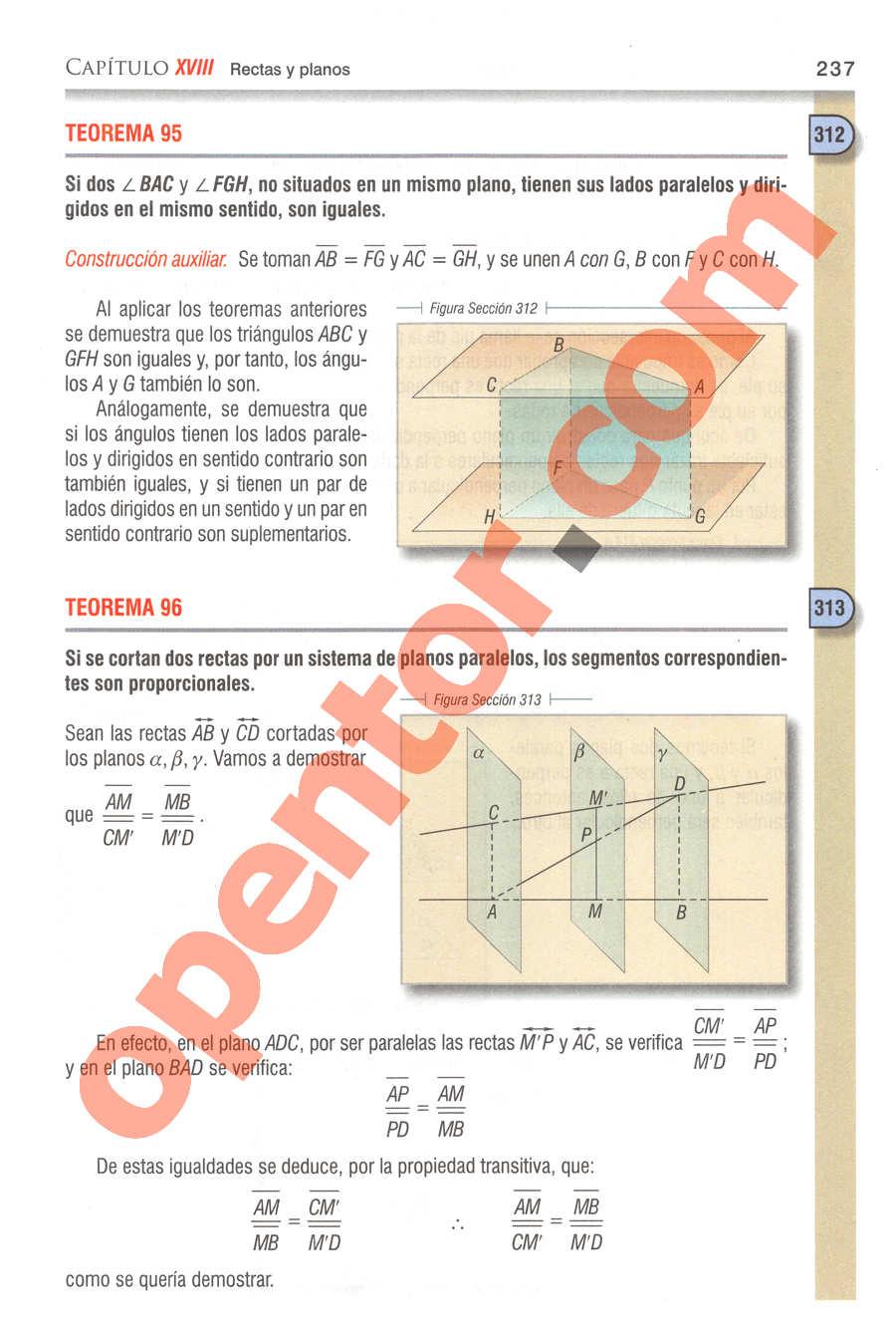 Geometría y Trigonometría de Baldor - Página 237