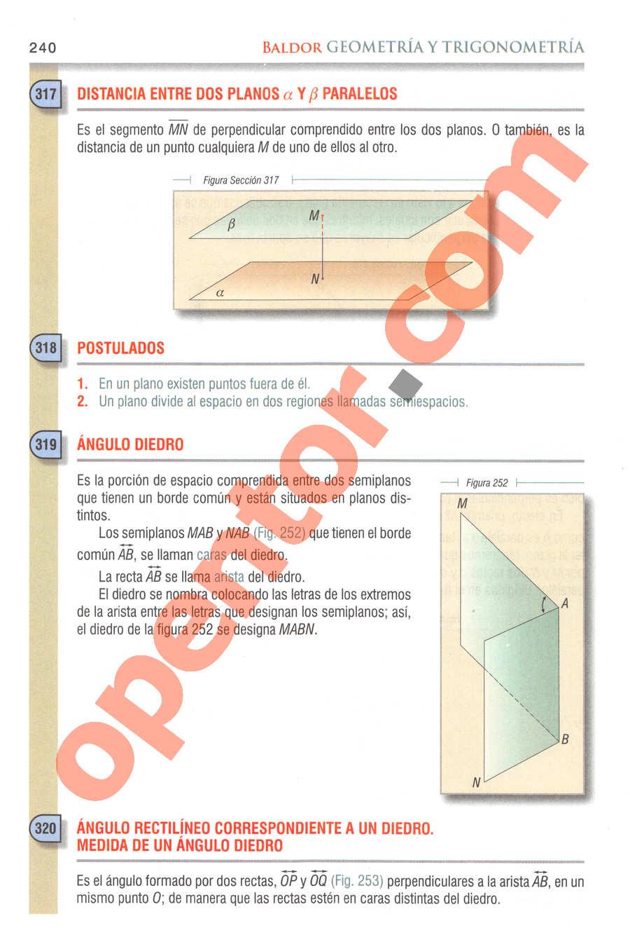 Geometría y Trigonometría de Baldor - Página 240
