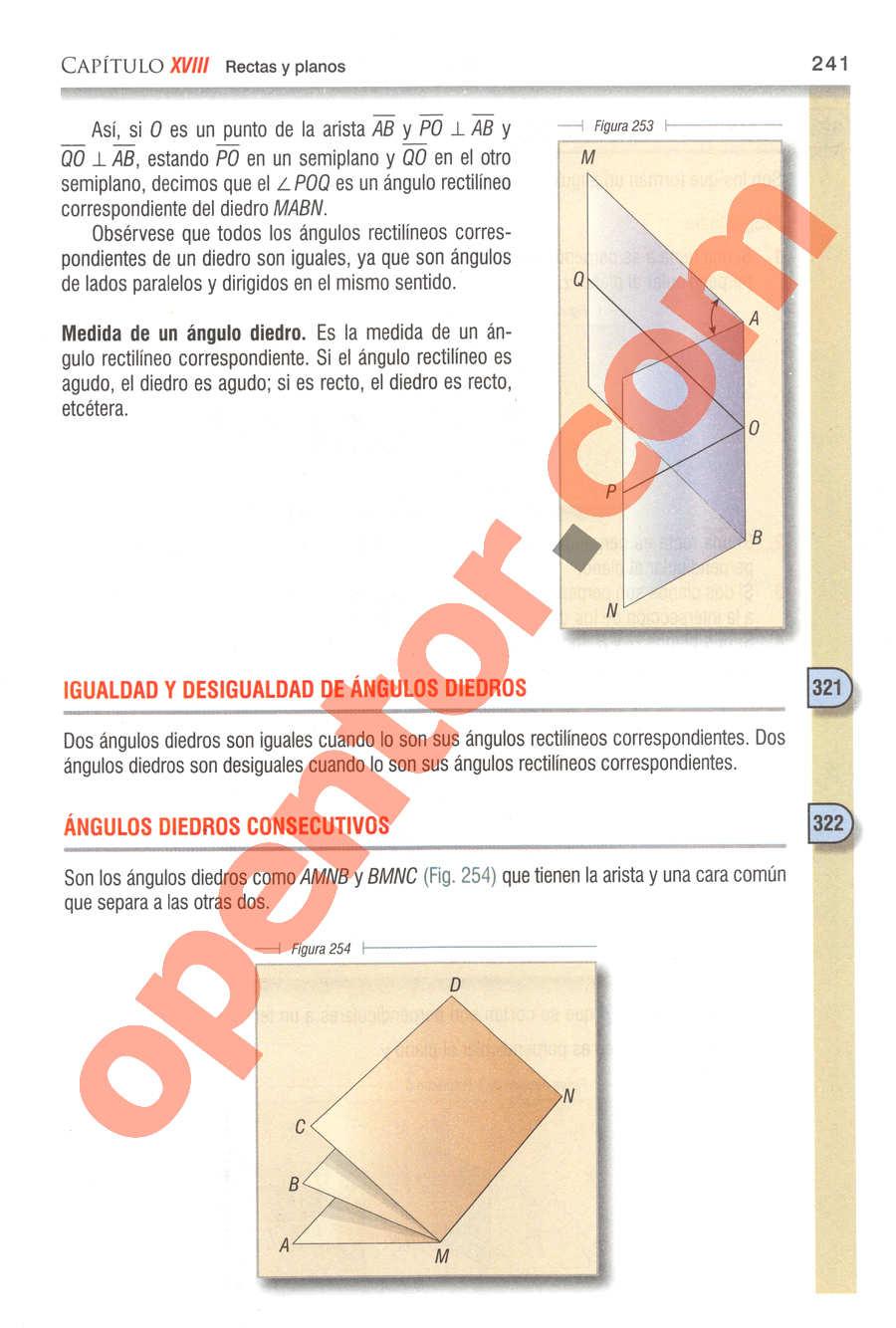 Geometría y Trigonometría de Baldor - Página 241