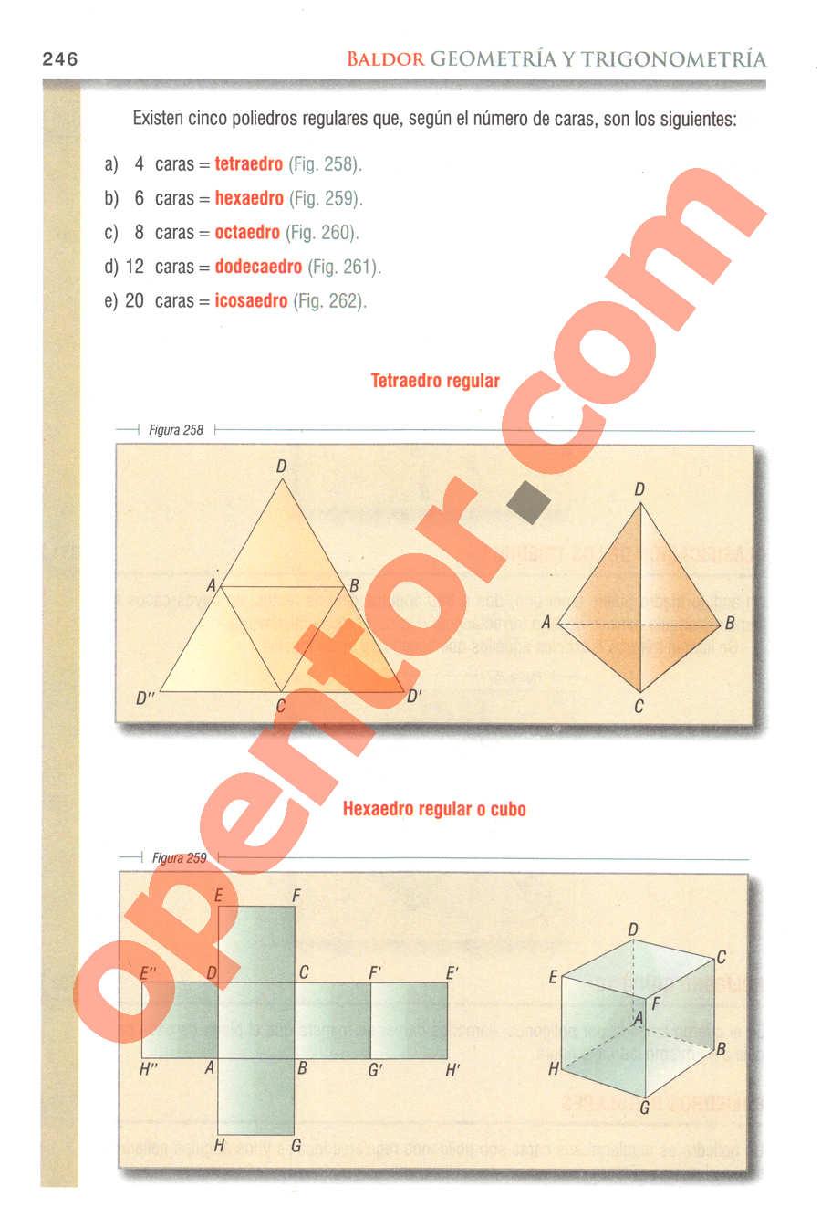 Geometría y Trigonometría de Baldor - Página 246