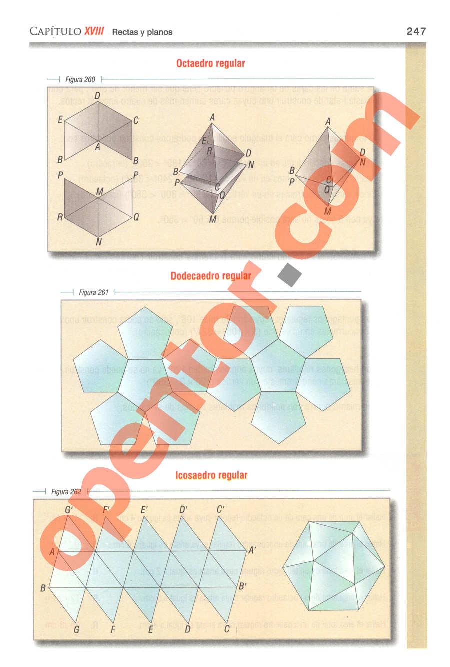 Geometría y Trigonometría de Baldor - Página 247