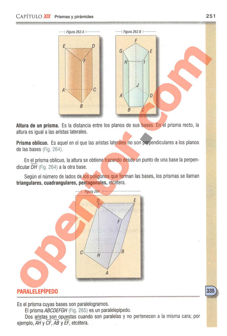 Geometría y Trigonometría de Baldor - Página 251
