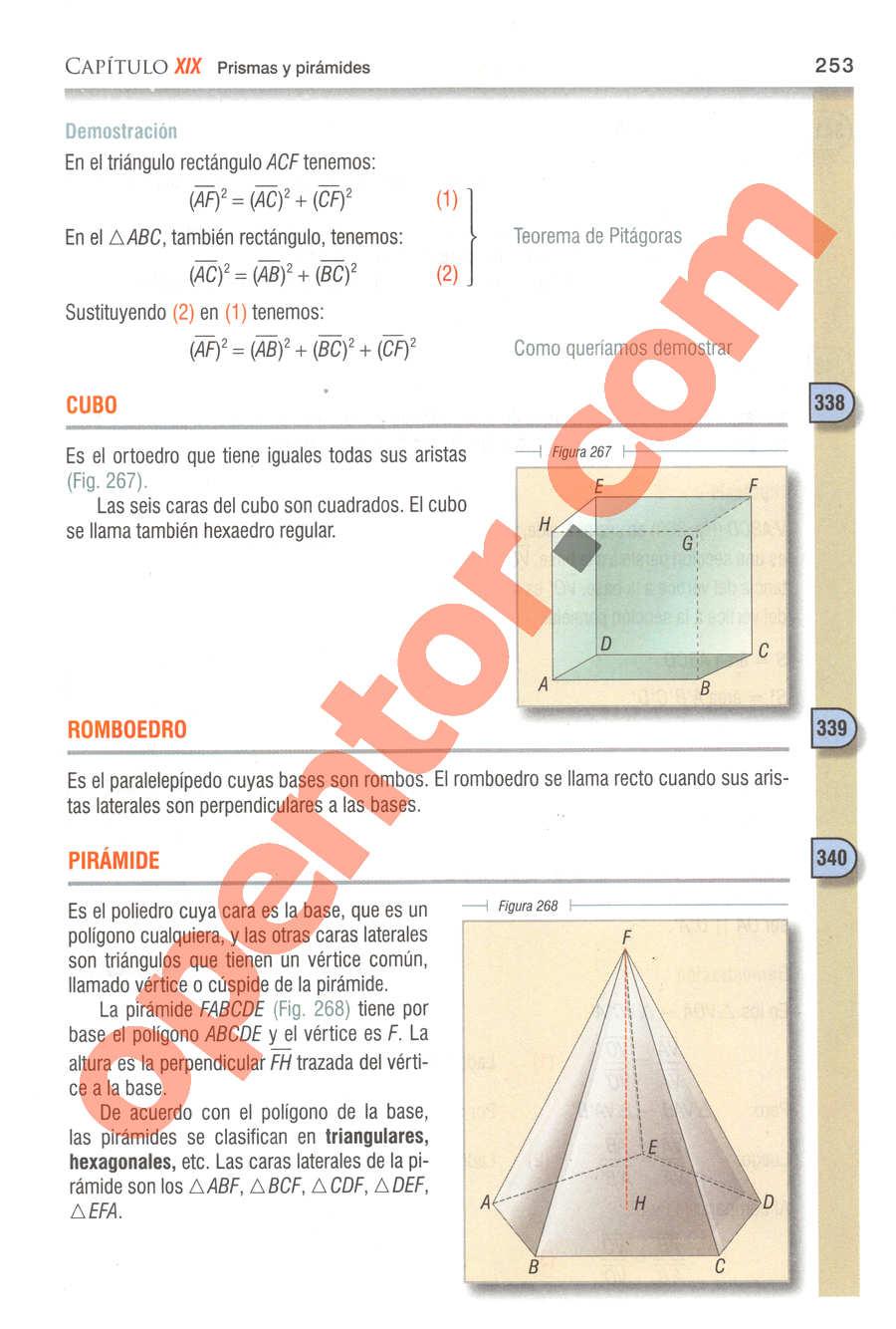Geometría y Trigonometría de Baldor - Página 253