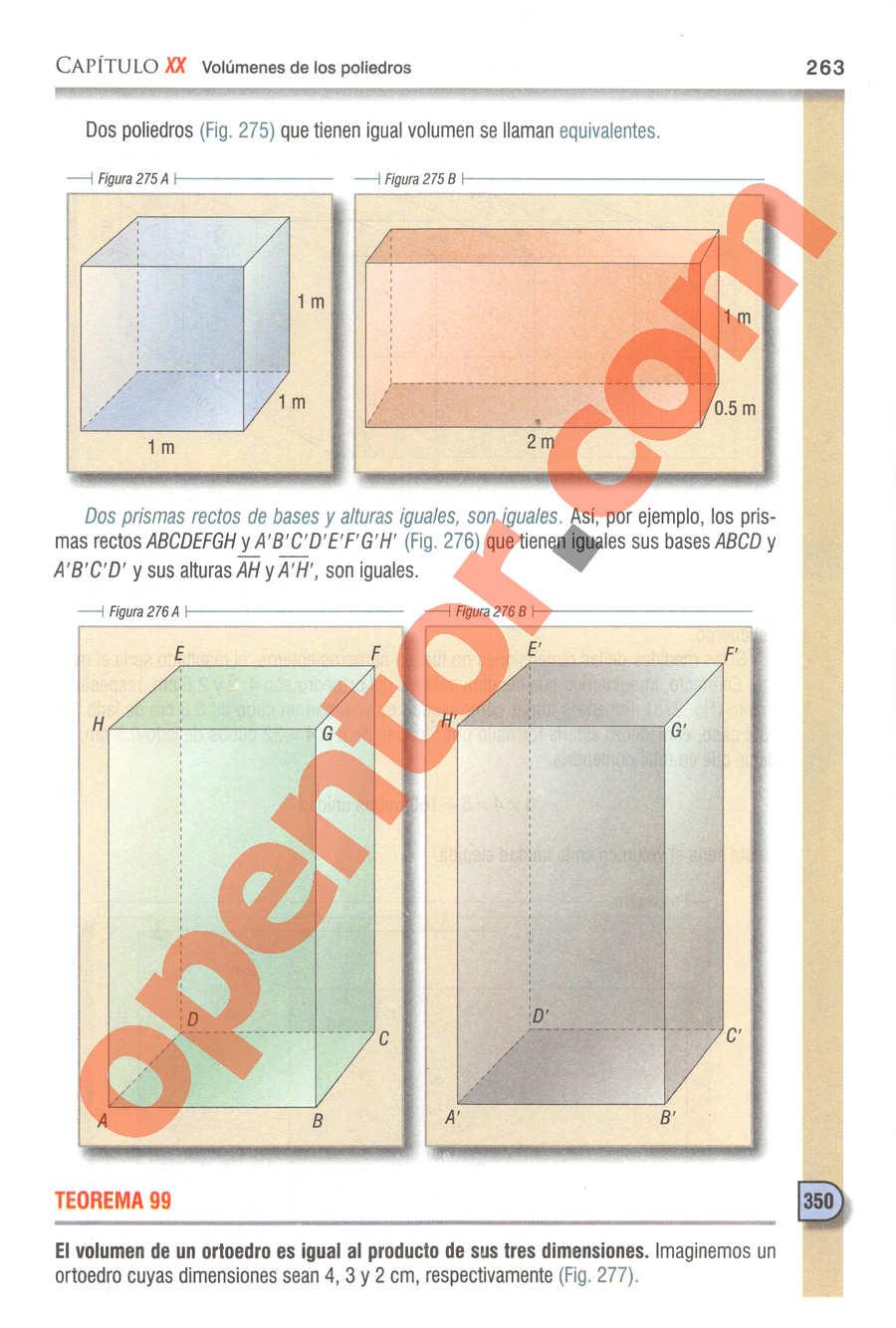 Geometría y Trigonometría de Baldor - Página 263