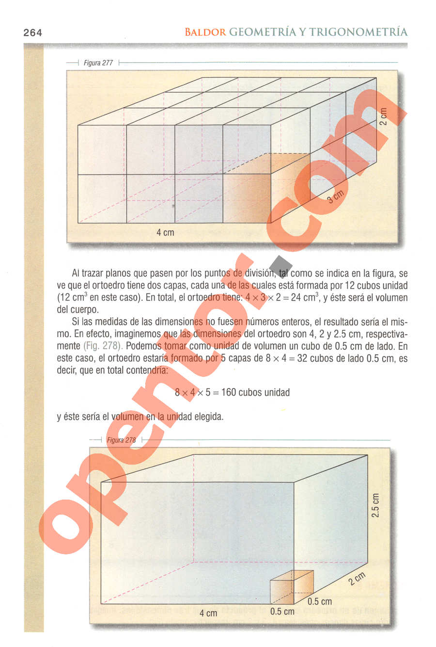 Geometría y Trigonometría de Baldor - Página 264