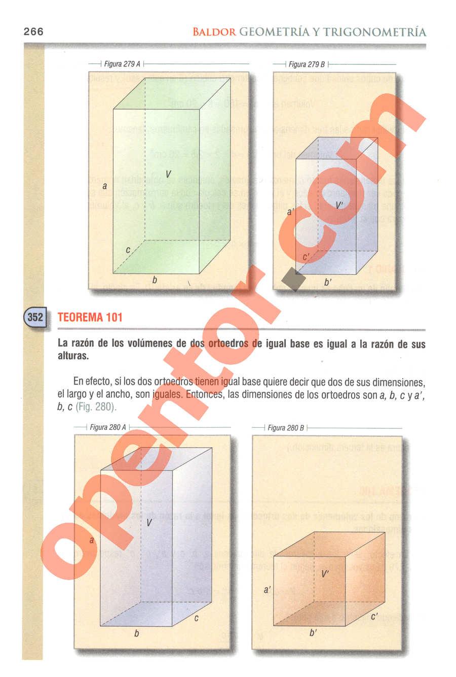 Geometría y Trigonometría de Baldor - Página 266