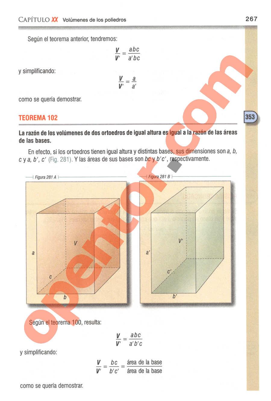 Geometría y Trigonometría de Baldor - Página 267
