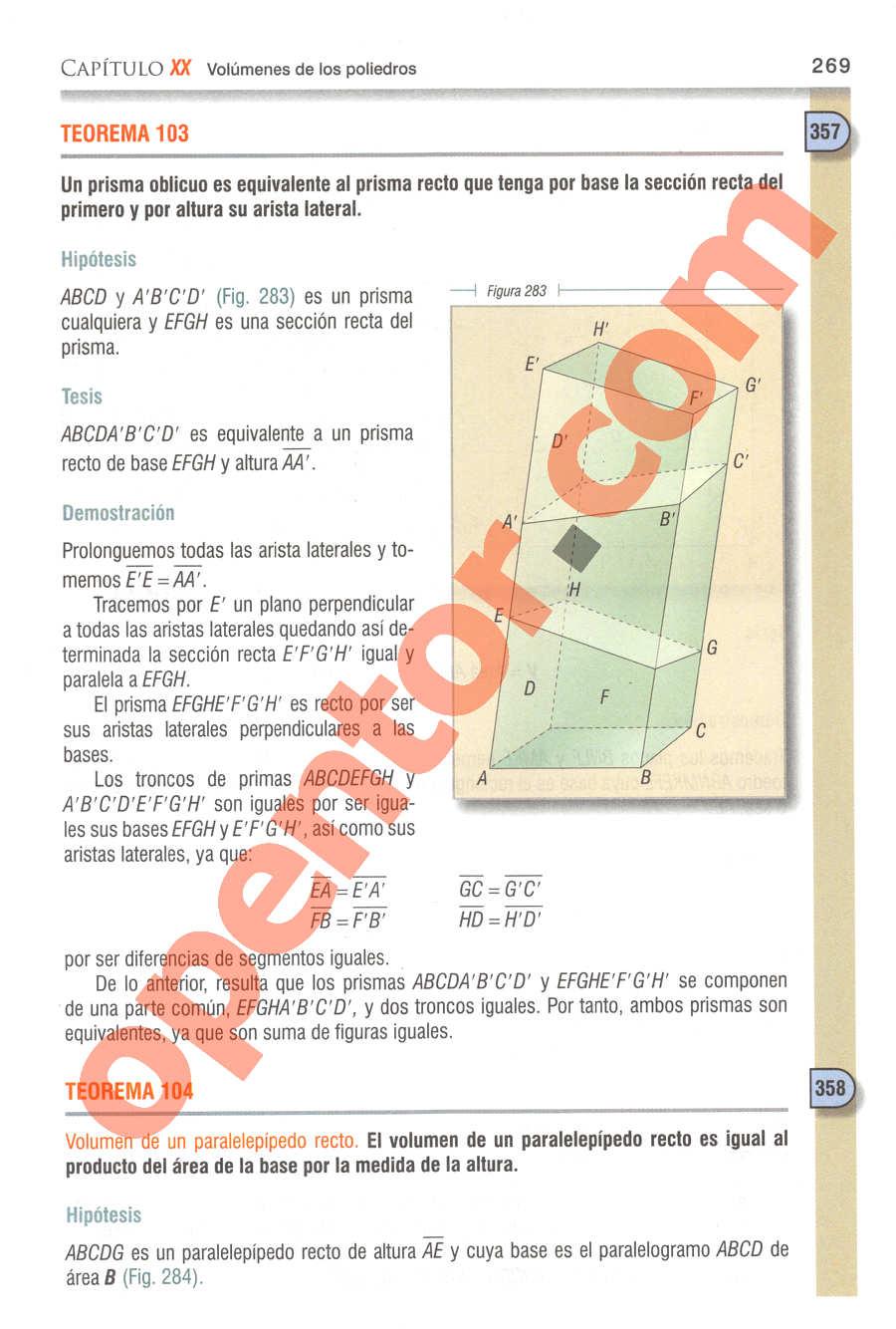 Geometría y Trigonometría de Baldor - Página 269