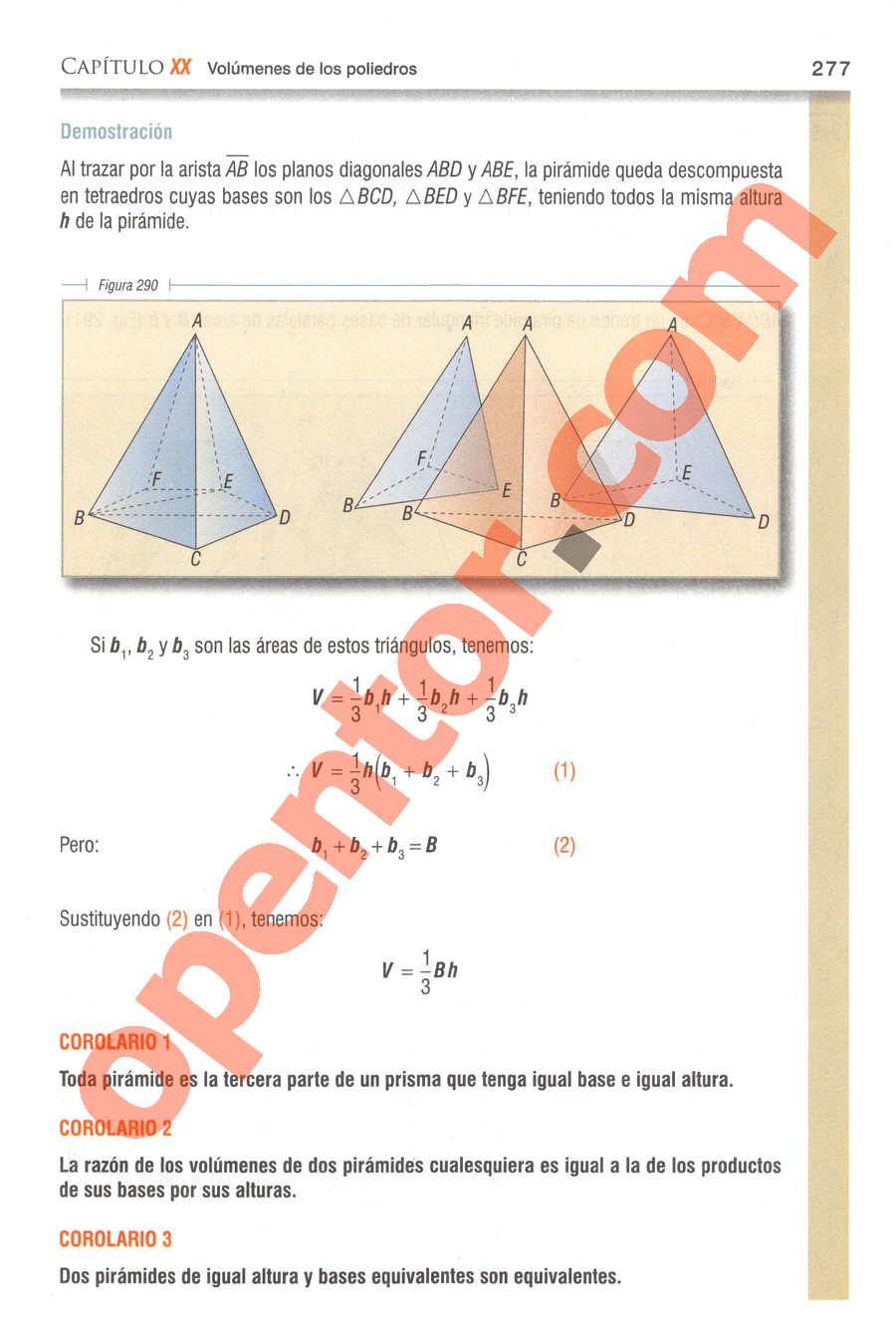 Geometría y Trigonometría de Baldor - Página 277