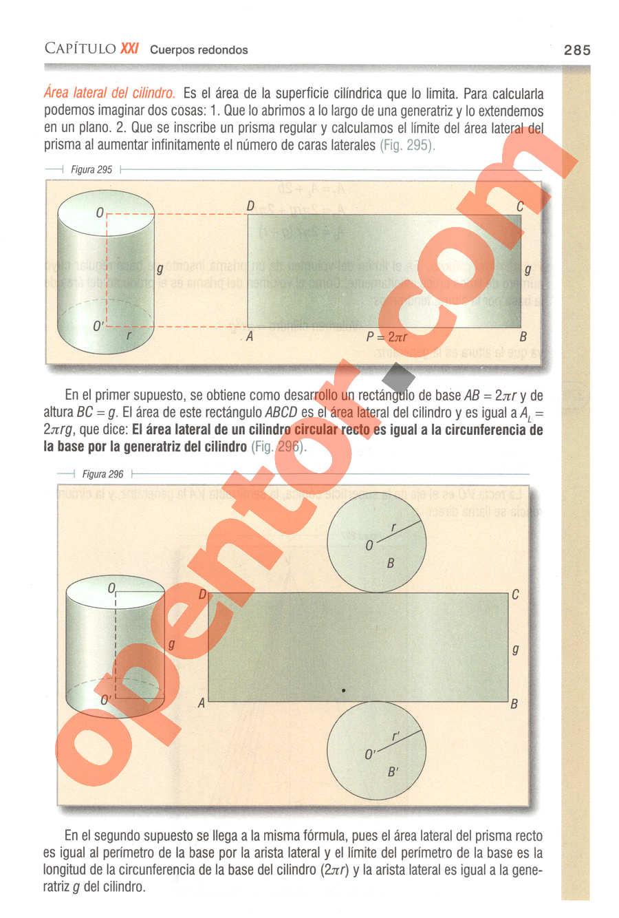 Geometría y Trigonometría de Baldor - Página 285