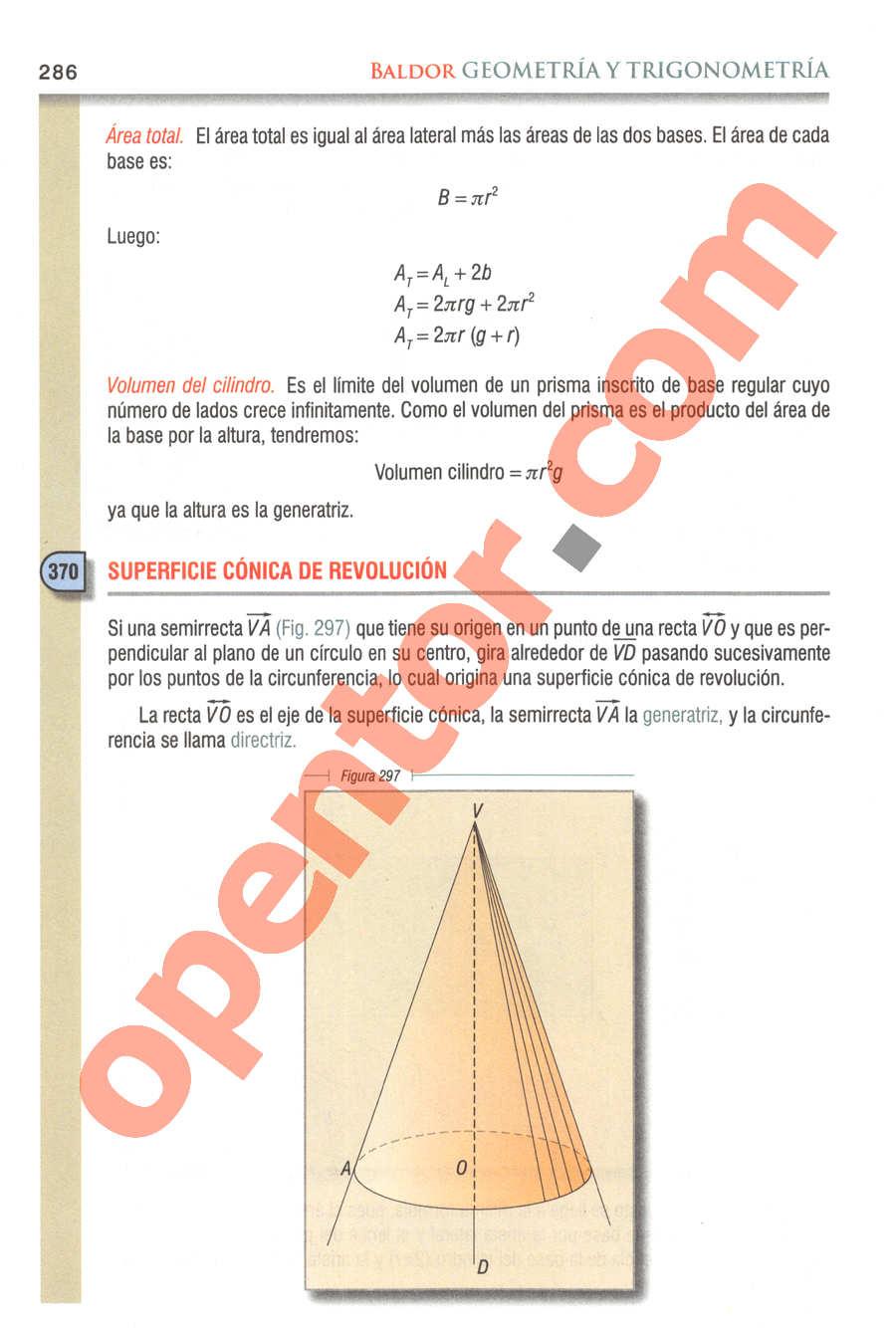 Geometría y Trigonometría de Baldor - Página 286