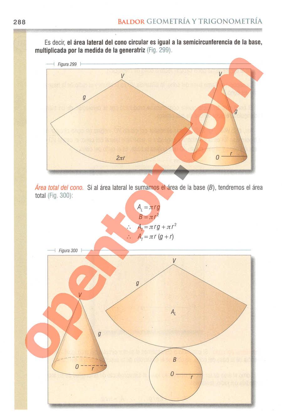 Geometría y Trigonometría de Baldor - Página 288