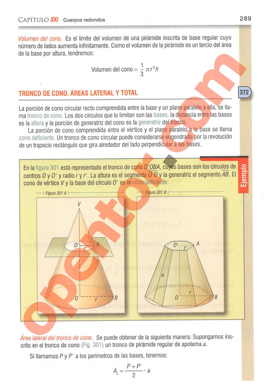 Geometría y Trigonometría de Baldor - Página 289