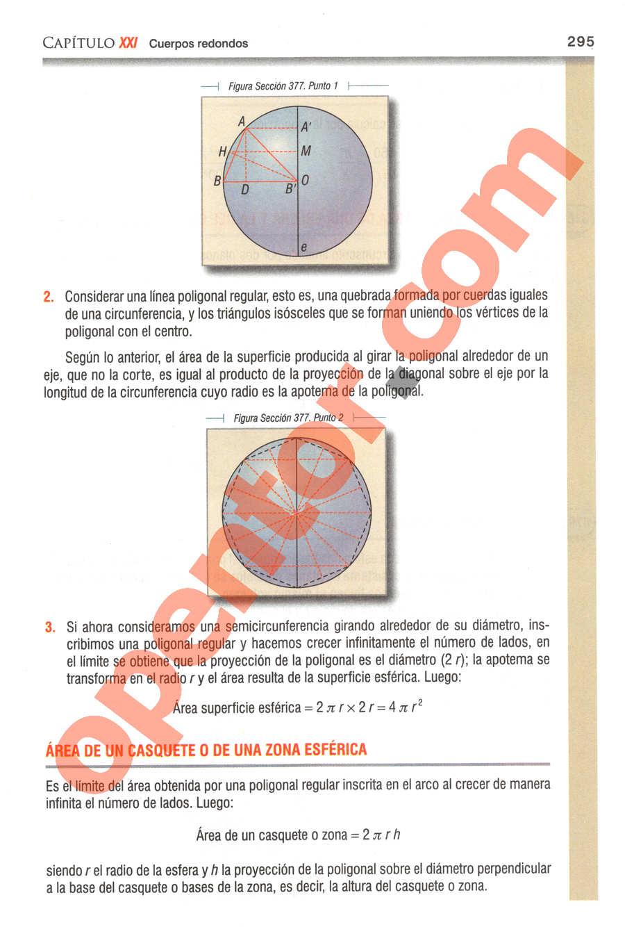 Geometría y Trigonometría de Baldor - Página 295