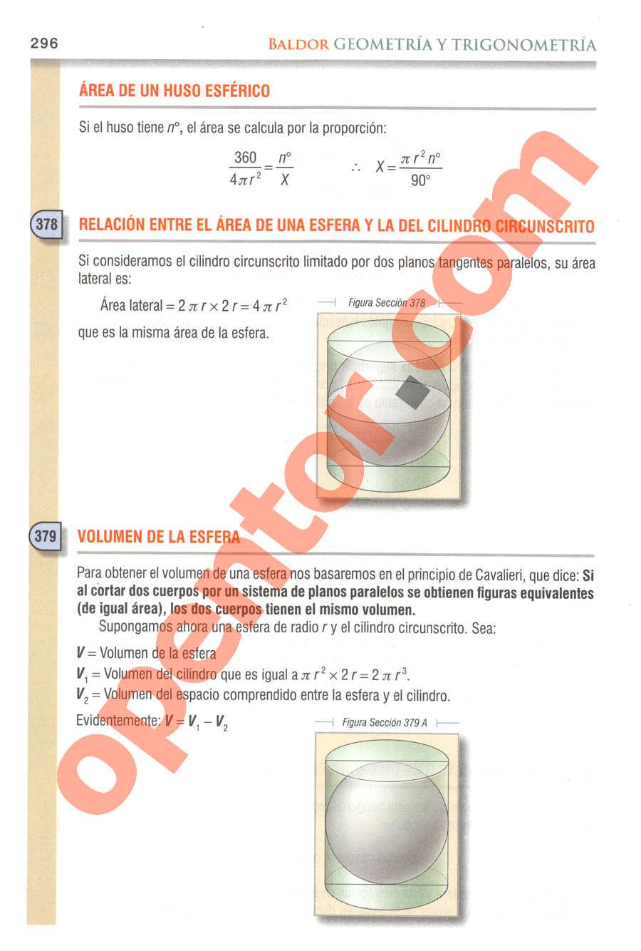 Geometría y Trigonometría de Baldor - Página 296