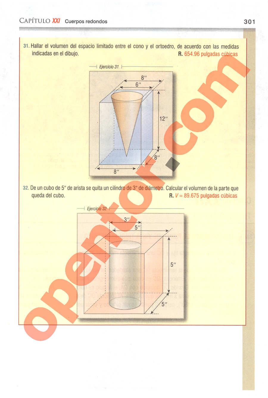 Geometría y Trigonometría de Baldor - Página 301