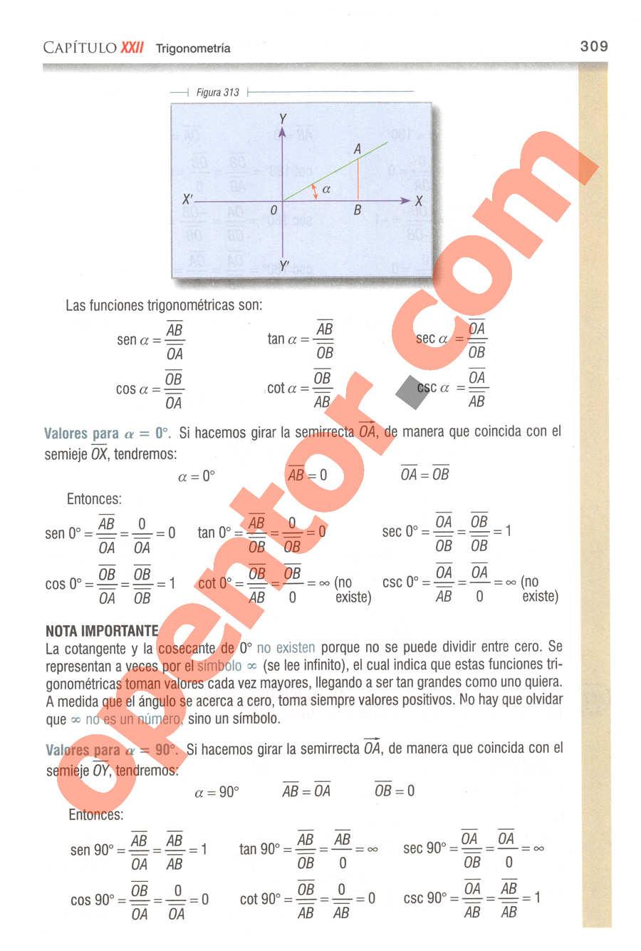 Geometría y Trigonometría de Baldor - Página 309